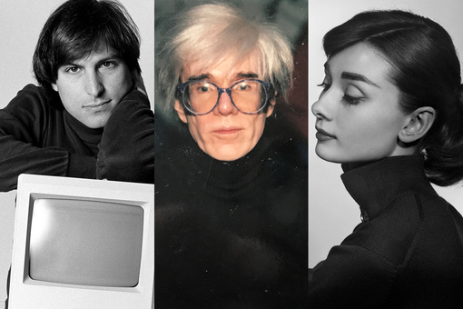 How the Black Turtleneck Came to Represent Creative Genius