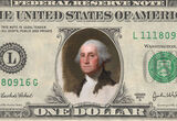 How an Unfinished Portrait of Washington Ended Up on the Dollar Bill