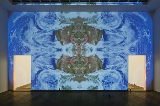 Pamela Rosenkranz's Swiss Pavilion Averages Europe into a Single Skin Color