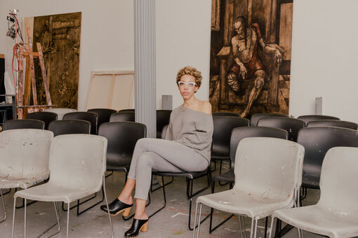 Obama Portraitist Amy Sherald Gives Advice to Young Artists