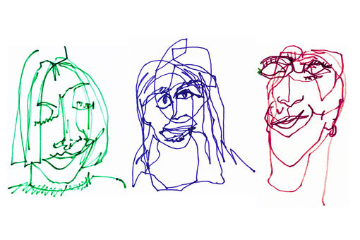 How Blind Contour Drawing Can Help You Become a Better Artist
