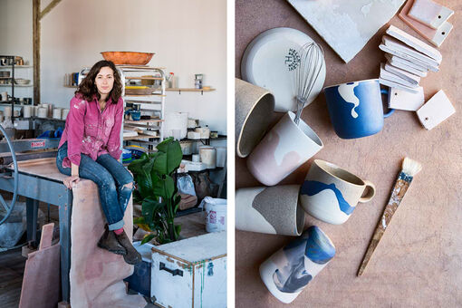 How Ceramicist Helen Levi Turned Her Passion for Pottery into a Living