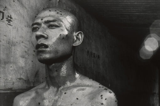 I'm Obsessed with This Photo of Artist Zhang Huan Covered in Flies