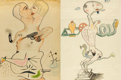 Explaining Exquisite Corpse, the Surrealist Drawing Game That Just Won't Die