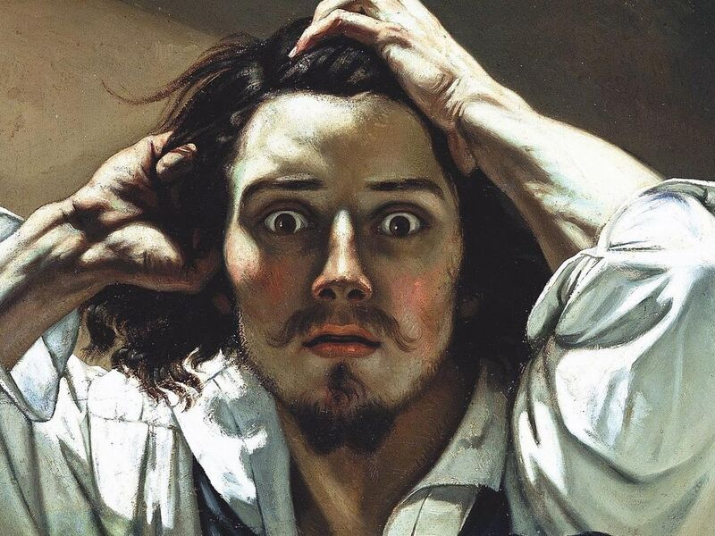Gustave Courbet S The Desperate Man Is The Ultimate Self Portrait Of The Artist As Mad Genius Artsy The information does not usually directly identify you, but it can give you a more personalized web experience. gustave courbet s the desperate man