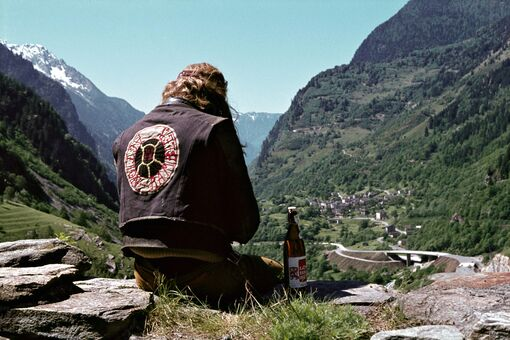 The Photographer Who Captured Switzerland's Biker Boys and Elvis Look-Alikes