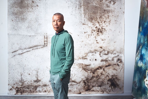How Cai Guo-Qiang Built a 1,650-Foot-Tall Ladder out of Fire