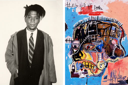 Basquiat Left School at 17—and Made New York Museums His Classroom