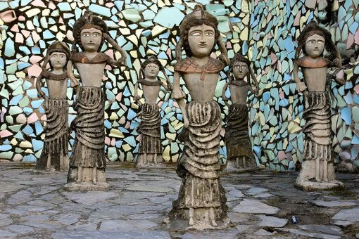 The Man Who Spent 60 Years Turning an Indian Forest into a Fantastical Sculpture Garden