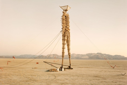 Richard Misrach's Rarely Seen Photos Capture Burning Man's Early, Experimental Years