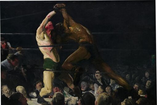 What George Bellows's Boxing Paintings Reveal about Toxic Masculinity