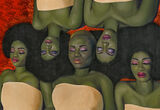 Market Brief: Oluwole Omofemi's Paintings Break Auction Records Two Months in a Row