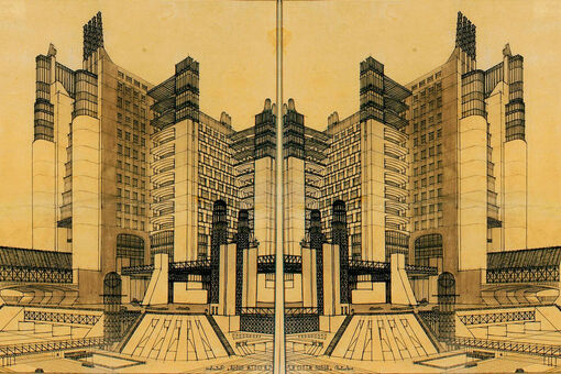 The Futurist Architect Who Inspired Blade Runner and Metropolis