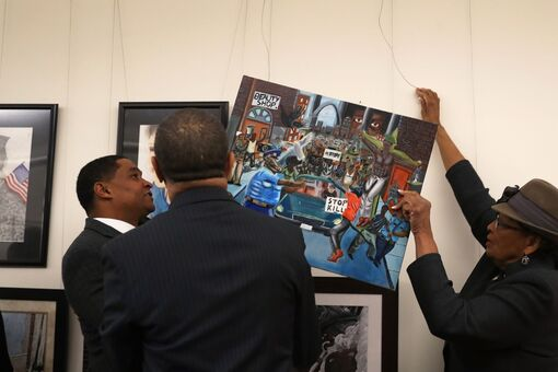 Judge Upholds Removal of Student's Controversial Painting from U.S. Capitol