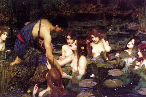 """This Artwork Changed My Life: John William Waterhouse's """"Hylas and the Nymphs"""""""
