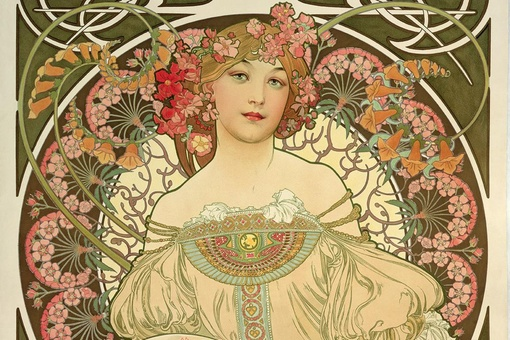 How Alphonse Mucha's Iconic Posters Came to Define Art Nouveau