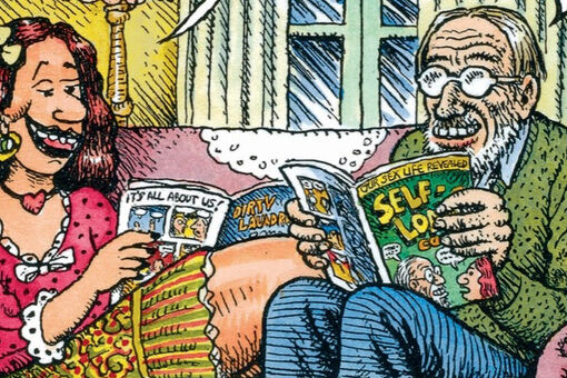 R. Crumb and Aline Kominsky-Crumb Air Their Dirty Laundry