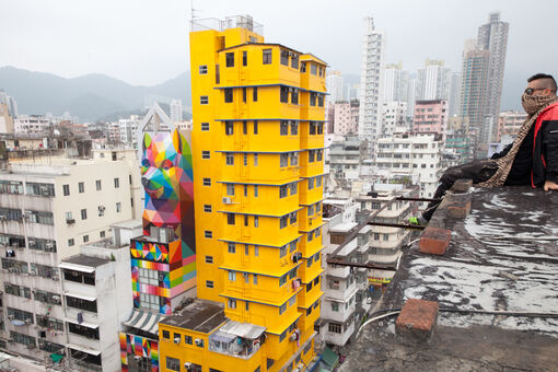 Hong Kong's Thriving Street Art Scene Risks Selling Out