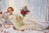 """This Artwork Changed My Life: Florine Stettheimer's """"A Model (Nude Self-Portrait)"""""""