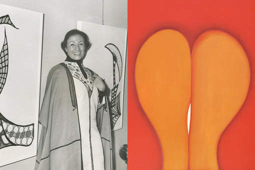 Now in Her Eighties, Huguette Caland Is Celebrated for Her Sensual, Feminist Art