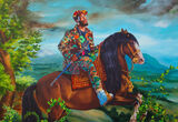 How Kehinde Wiley's Dazzling Portraits Won Over the Art Market