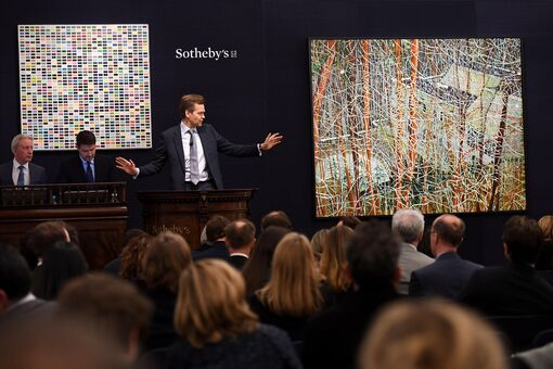 £109 Million Sotheby's Contemporary Sale Shows Market Stability—Even without Sparks