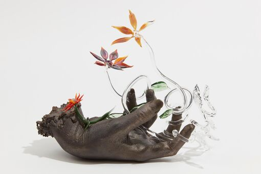 L.A. Artist Kelly Akashi Uses Glass to Create Primordial, Emotive Sculpture