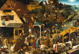 The Mysteries of Pieter Bruegel the Elder's Peasant Paintings