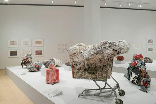 "At the Brooklyn Museum, Judith Scott's Hypnotic Sculptures Transcend ""Outsider Art"""