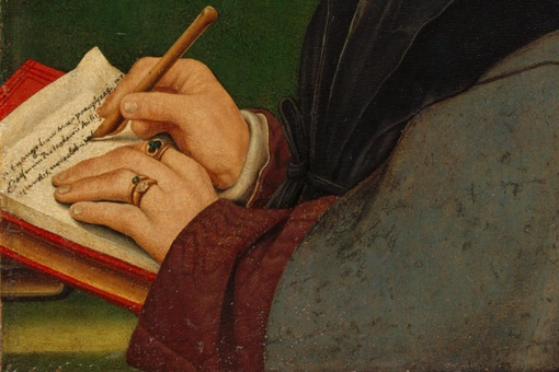 I'm Obsessed with This Holbein Painting with a Doppelgänger of My Wedding Ring