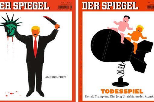 Meet the Artist behind Der Spiegel's Viral Trump Covers