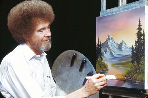 How Bob Ross Became Everyone's Favorite Art Teacher