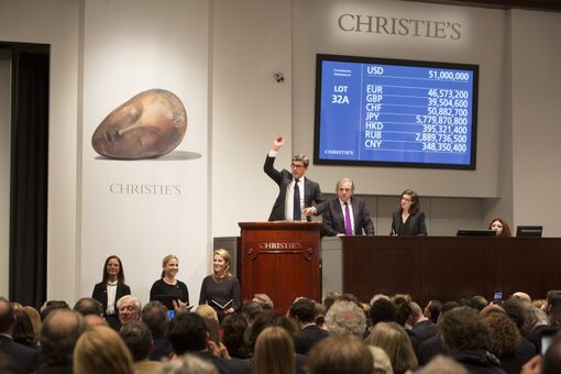 $57 Million Brancusi Leads Best Christie's Impressionist and Modern Sale in Seven Years