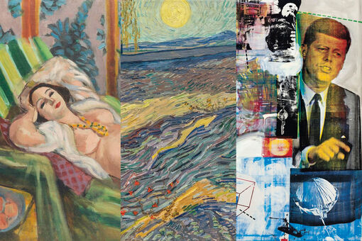 Most Expensive Artworks Sold at Auction