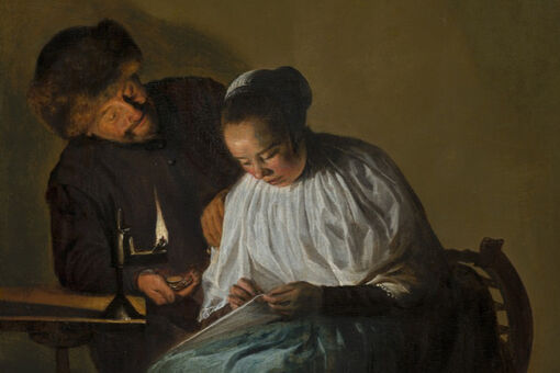 "This Artwork Changed My Life: Judith Leyster's ""Man Offering Money to a Young Woman"""