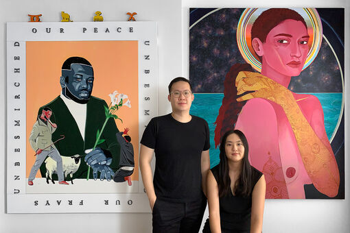 Collectors Lisa Young and Steven Abraham Are Building Community with Asian Diasporic Artists