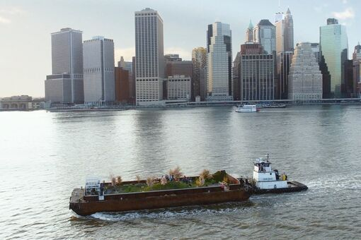 An Artist's Lush Floating Park Is Feeding New Yorkers This Summer
