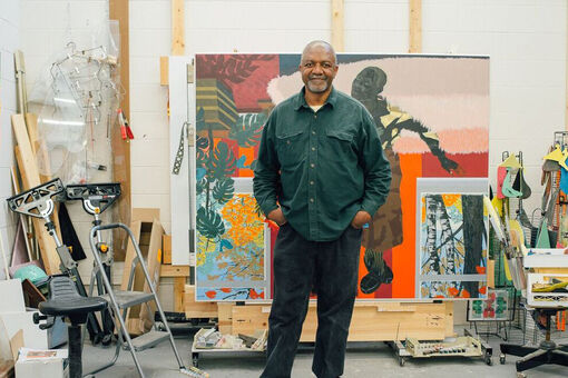 How Kerry James Marshall Became a Superhero for Chicago's Housing Projects