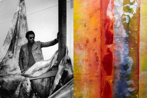 At 85, Abstract Pioneer Sam Gilliam Is Still Making Innovative Paintings