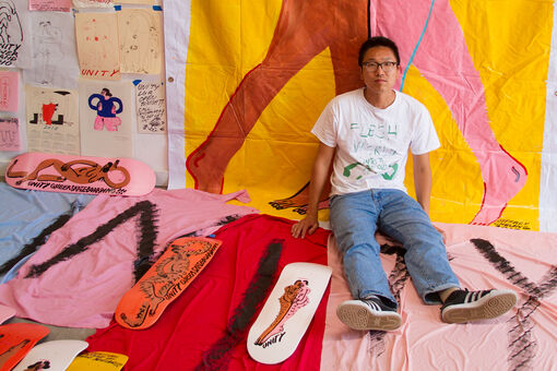 From Murals to Skate Decks, Jeffrey Cheung's Art Celebrates Queer and Trans People of Color