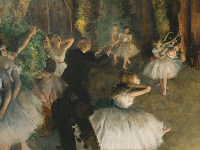 Edgar Degas S Ballet Dancers Hide A Sordid Backstage Reality Artsy