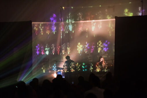 Beach House Asks, Is Installation Art the Future of the Indie Rock Concert?
