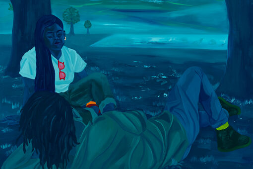 Dominic Chambers's Magical Realist Paintings Capture the Sanctity of Black Leisure