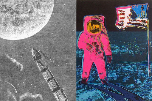 Artists' Futuristic Visions Helped Make the Moon Landing Possible