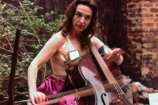 """c37b33d8c1878 """"The Topless Cellist"""" Charlotte Moorman Finally Finds Her Place in Art  History. """""""