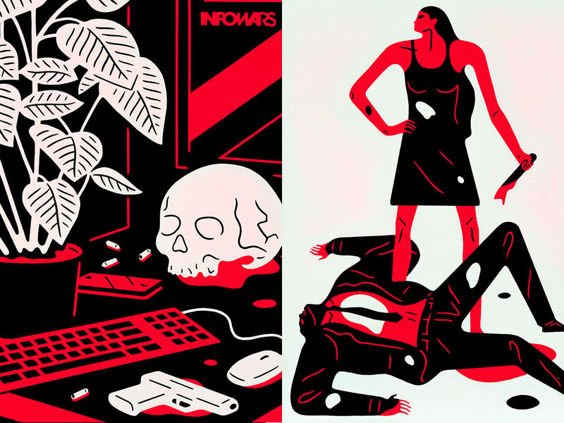 Cleon Peterson S Violent Paintings Strike At The Heart Of A