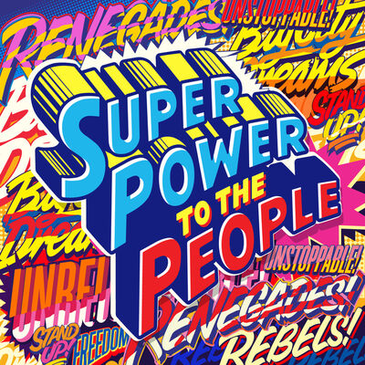 QUEEN ANDREA, 'Super Power To The People', 2020