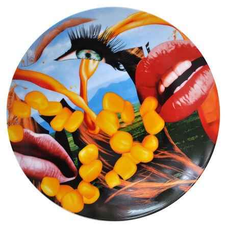 Jeff Koons, 'Lips Coupe Service Plate', 2013