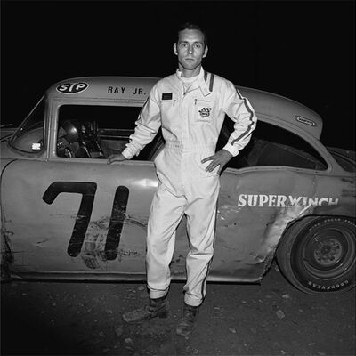 Henry Horenstein, 'Ray Jr. (Driver, Thompson Speedway, Thompson, CT)', 1972