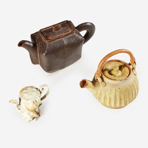 Warren MacKenzie, 'Group of Three Teapots, USA', Circa 2000